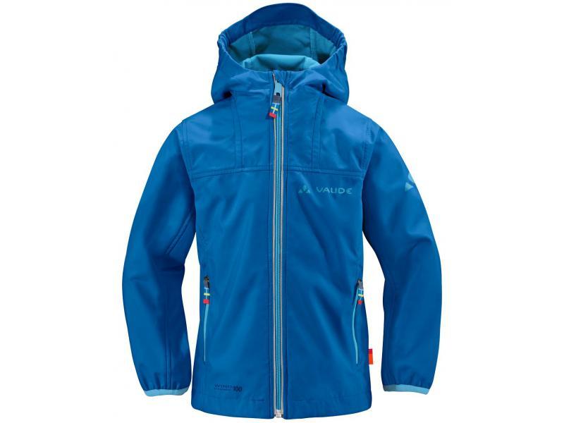 Dětská softshellová bunda VAUDE Kids Rondane Jacket - blue 03842 300 ... 219093a82d